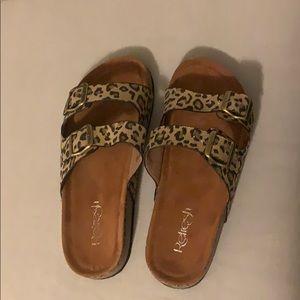 Brand New Leopard Sandals